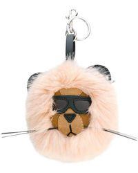 9feaff09056 Stella McCartney - Lion Key Ring - Lyst