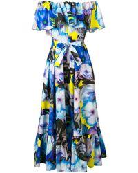 MSGM - Платье С Открытыми Плечами - Lyst