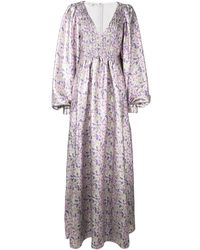 Stella McCartney フローラル イブニングドレス - マルチカラー