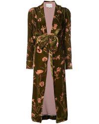 Johanna Ortiz - Floral Belted Coat - Lyst