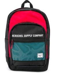 Herschel Supply Co. カラーブロック バックパック - ブラック