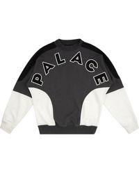 Palace Roundhouse 2 Da Face Sweatshirt - Black