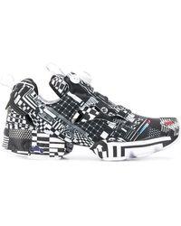 Reebok X Kenzo Minami Instapump Fury Sneakers - Zwart