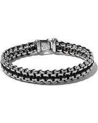 David Yurman - Woven Box Chain Bracelet - Lyst