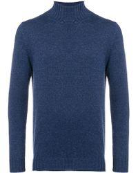 Dell'Oglio カシミア セーター - ブルー
