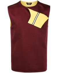 CALVIN KLEIN 205W39NYC - Fold Flap Vest Top - Lyst