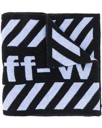 Off-White c/o Virgil Abloh Шарф С Логотипом Arrows - Черный