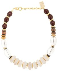 Lizzie Fortunato - Tuscan Quartz Necklace - Lyst