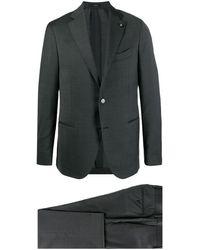 Lardini シングルスーツ - グレー