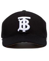 Burberry Tbモノグラム キャップ - ブラック