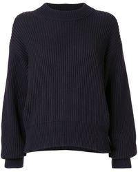 Helmut Lang Crew Neck Sweater - Blue