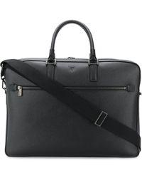 Serapian 48 Hours Briefcase - Black