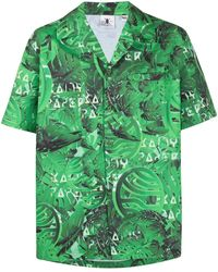 Daily Paper Camicia con stampa - Verde