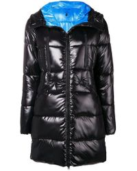 Save The Duck - Bicolour Hooded Parka - Lyst