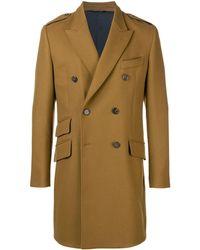 Dolce & Gabbana Double Breasted Coat - Коричневый
