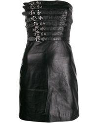 Manokhi バックル ドレス - ブラック