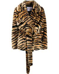 Stand Studio - Двубортное Пальто Tiffany - Lyst