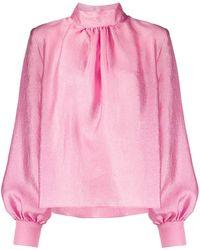Stine Goya パフスリーブ ブラウス - ピンク