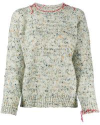 Maison Margiela Bouclé-knit Jumper - Multicolour