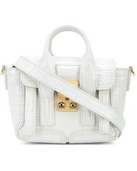3.1 Phillip Lim Pashli Nano Crossbody Bag - White