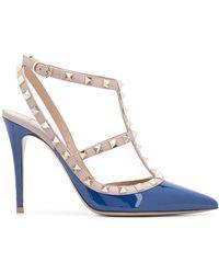 Valentino Zapatos de tacón Rockstud - Azul