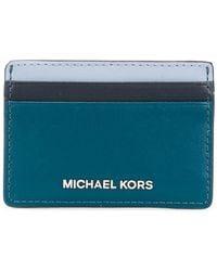 MICHAEL Michael Kors - Leather Card Case - Lyst