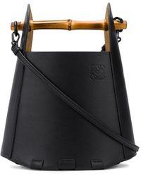 Loewe ロゴ バケットバッグ - ブラック