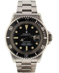 Rolex 1971 Pre-owned Submariner 40mm - Black