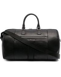 Tommy Hilfiger Logo Plaque luggage Bag - Black