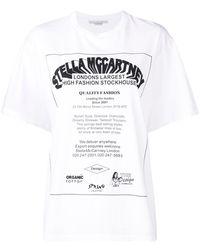 Stella McCartney - ステラ プリント Tシャツ - Lyst