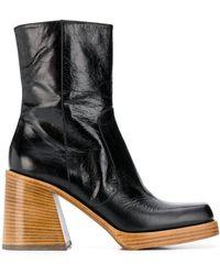 Zadig & Voltaire Star Vintage Boots - Black
