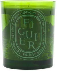 Diptyque Figuier 300 キャンドル - グリーン