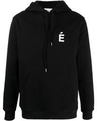 Etudes Studio Худи Из Органического Хлопка С Вышитым Логотипом - Черный