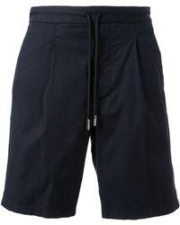Giorgio Armani リラックスフィット ショートパンツ - ブルー