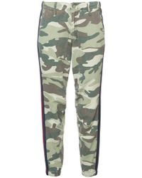 Mother | Camouflage Print Trousers | Lyst