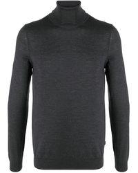 BOSS by HUGO BOSS タートルネック セーター - グレー