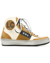 Leather Crown - Bmx Hi-top Trainers - Lyst