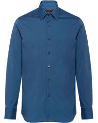 Prada - Slim Fit Shirt - Lyst