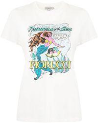 Fiorucci Princess Of The Sea T-shirt - White