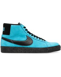 Nike Кеды Zoom Blazer Mid - Синий