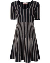 Twin Set - ストライプディテール ドレス - Lyst
