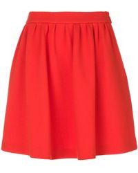 Moschino - Gathered Skater Skirt - Lyst