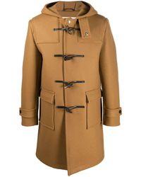 Mackintosh Duffle-coat Weir - Marron