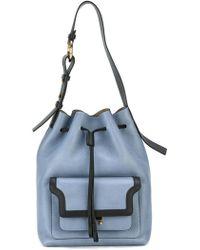Marni Trunk Duffle Bag - Blue