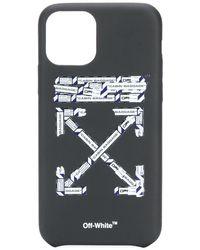 Off-White c/o Virgil Abloh Airport Arrows Iphone 11 Pro Case - Black