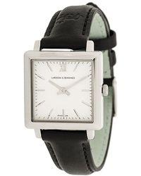 Larsson & Jennings Square-face Roman Dial Watch - Black