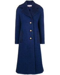 Emilio Pucci - Embroidered Single-breasted Coat - Lyst