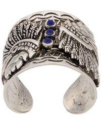 Gas Bijoux Cancun Ring - Metallic