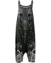 Camilla Midnight Pearl ジャンプスーツ - ブラック
