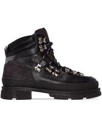 Ganni Chaussures de randonnée Winter City - Noir